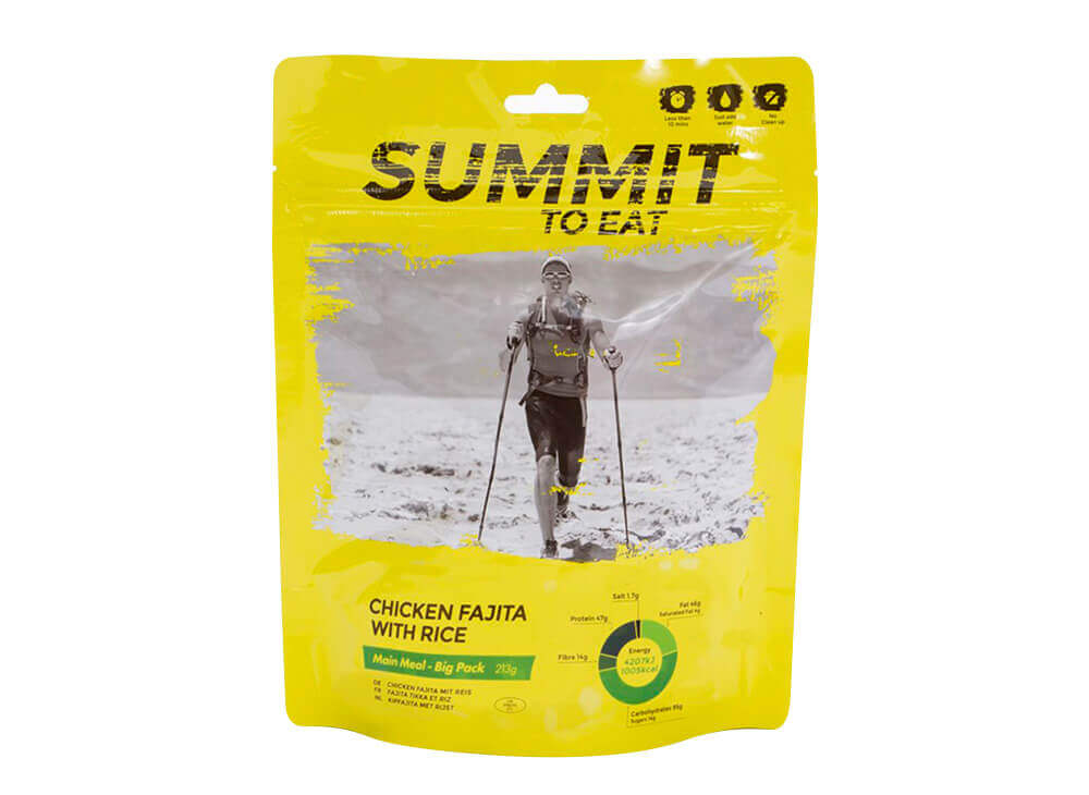 Summit to Eat Kuře Fajita s rýží