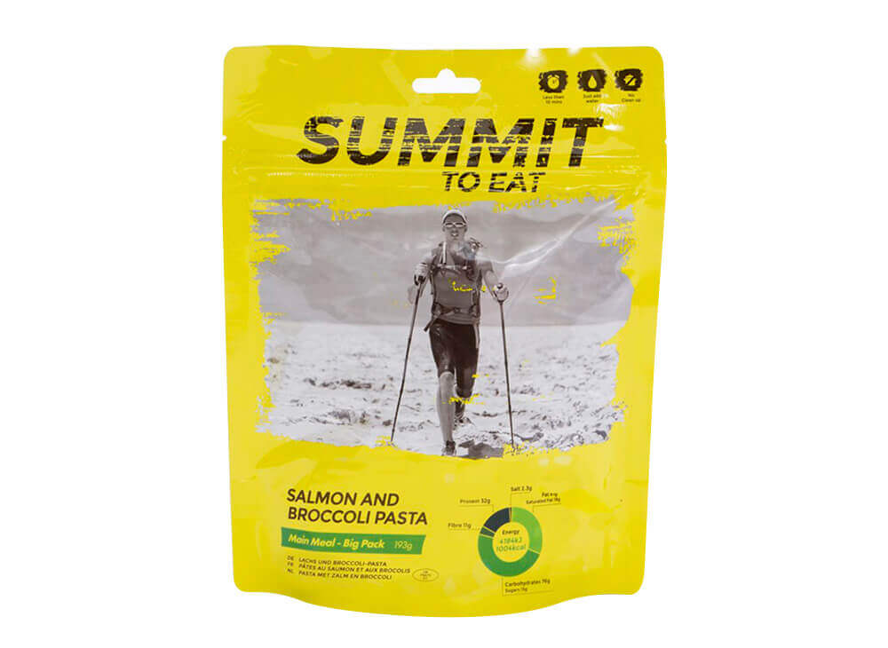 Summit to Eat losos s brokolicí
