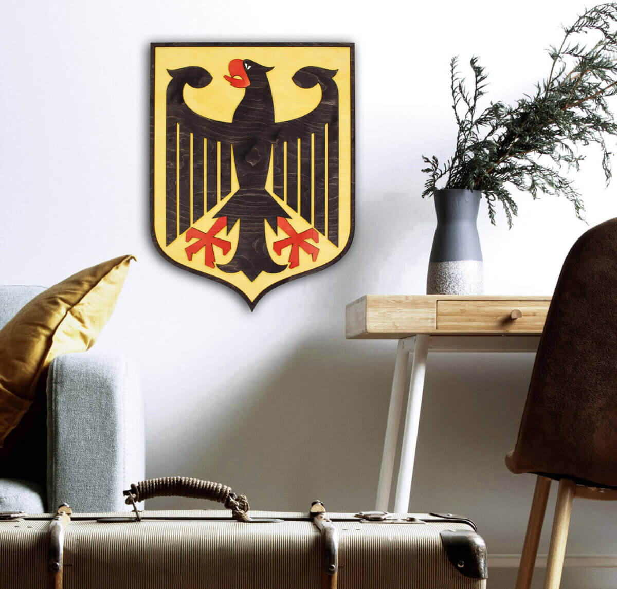 Dřevěný státní znak Německa