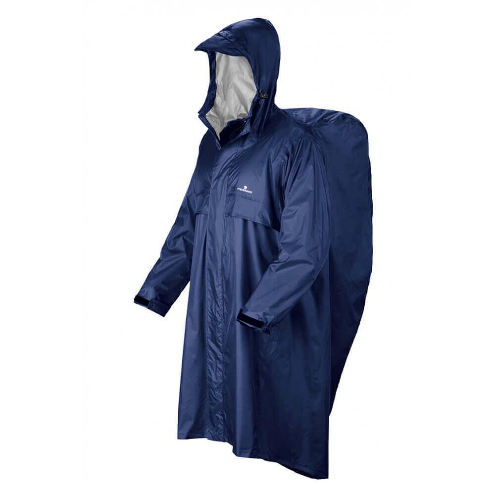 Raincoat Ferrino Trekker-blue